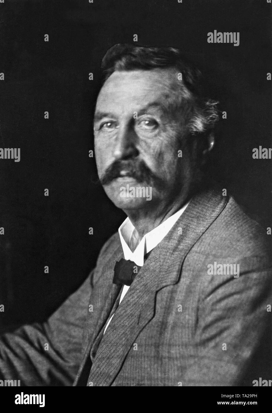 Konstantin Fehrenbach (1852-1926), a German jurist and politician. - Stock Image