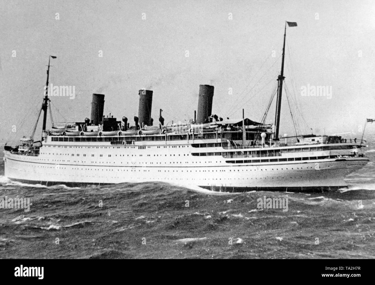 passenger ship vulcania 1930 - HD1300×988