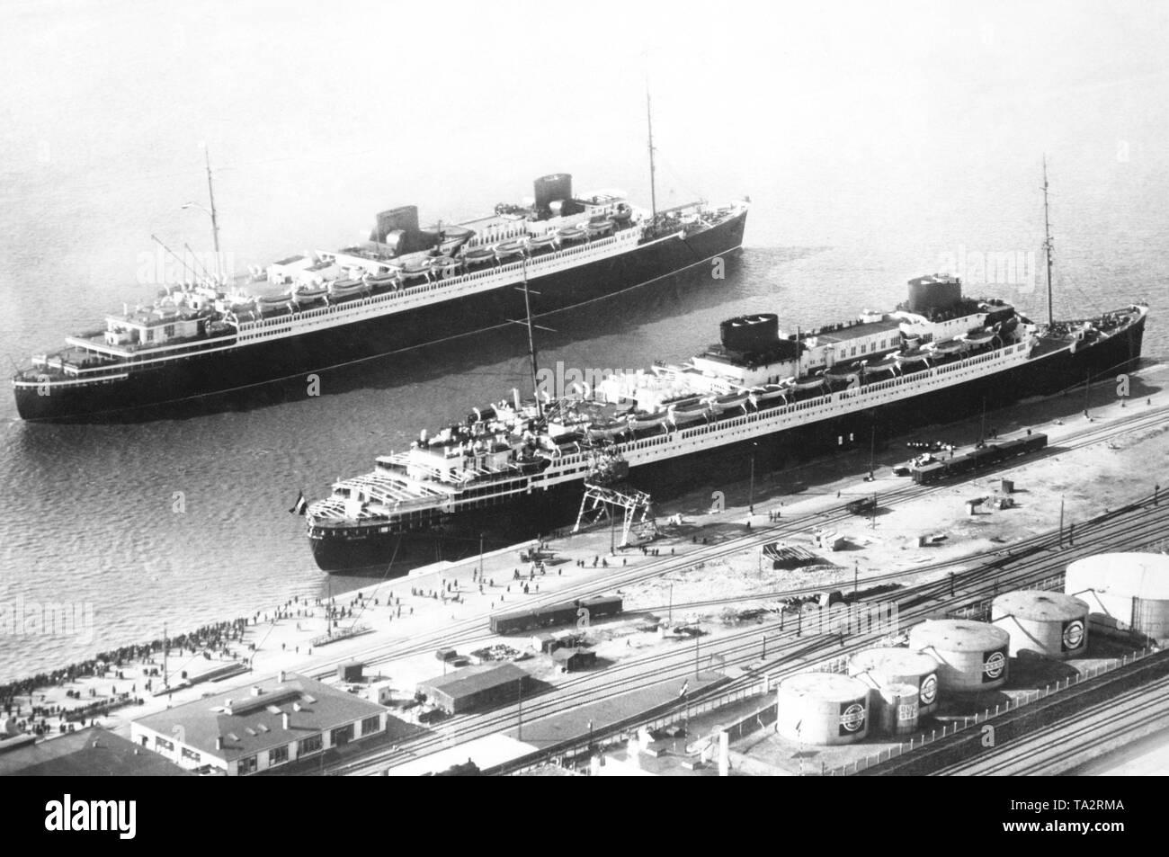 passenger ship vulcania 1930 - HD1300×953