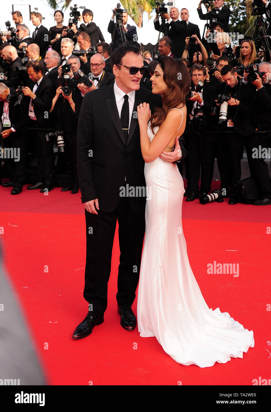 Cannes Film Festival 21stMay at a Red Carpet  Quentin Tarantino l Stock Photo