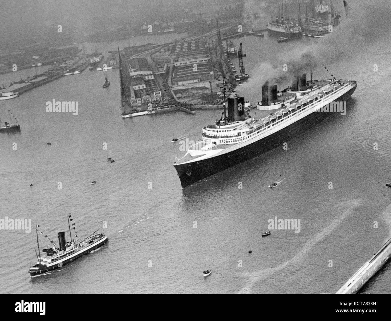 passenger ship vulcania 1930 - HD1300×1065