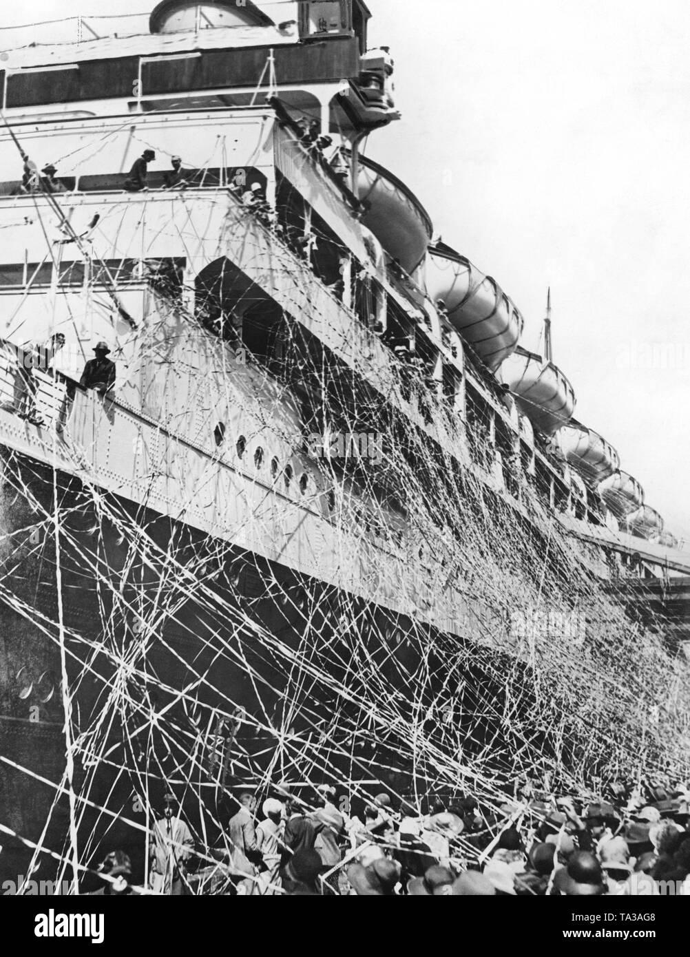 passenger ship vulcania 1930 - HD1001×1390
