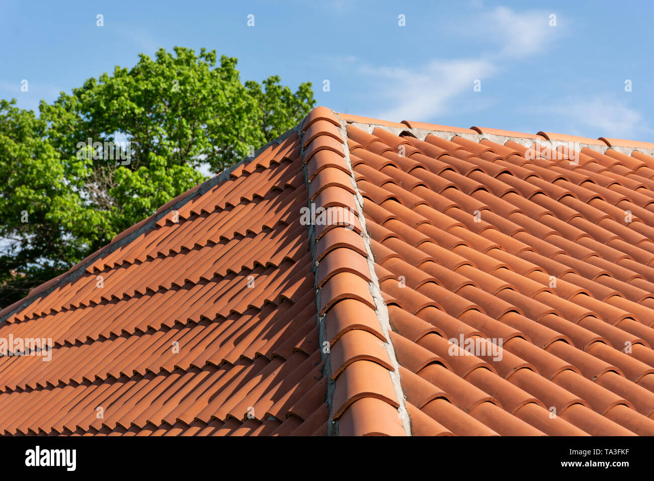Orange Roof Tile Stock Photos Amp Orange Roof Tile Stock