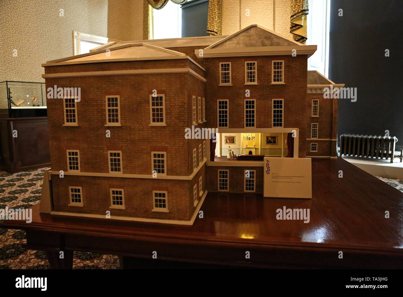 200 th anniversary of Queen Victoria's birth with major exhibition at Kensington Palace 21 May 2019 London , UK - Stock Image