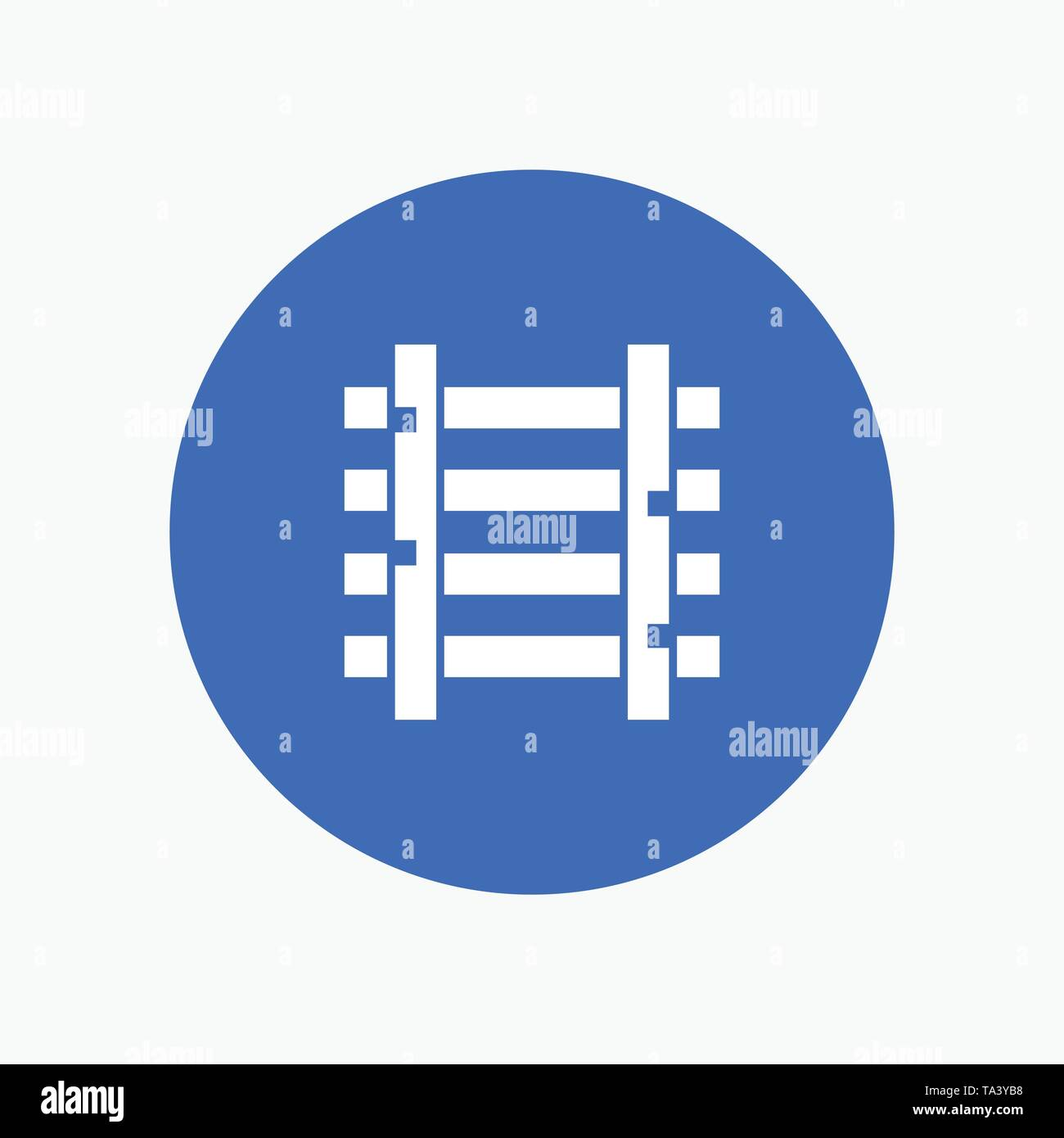 Railways, Station, Train, Transportation - Stock Vector
