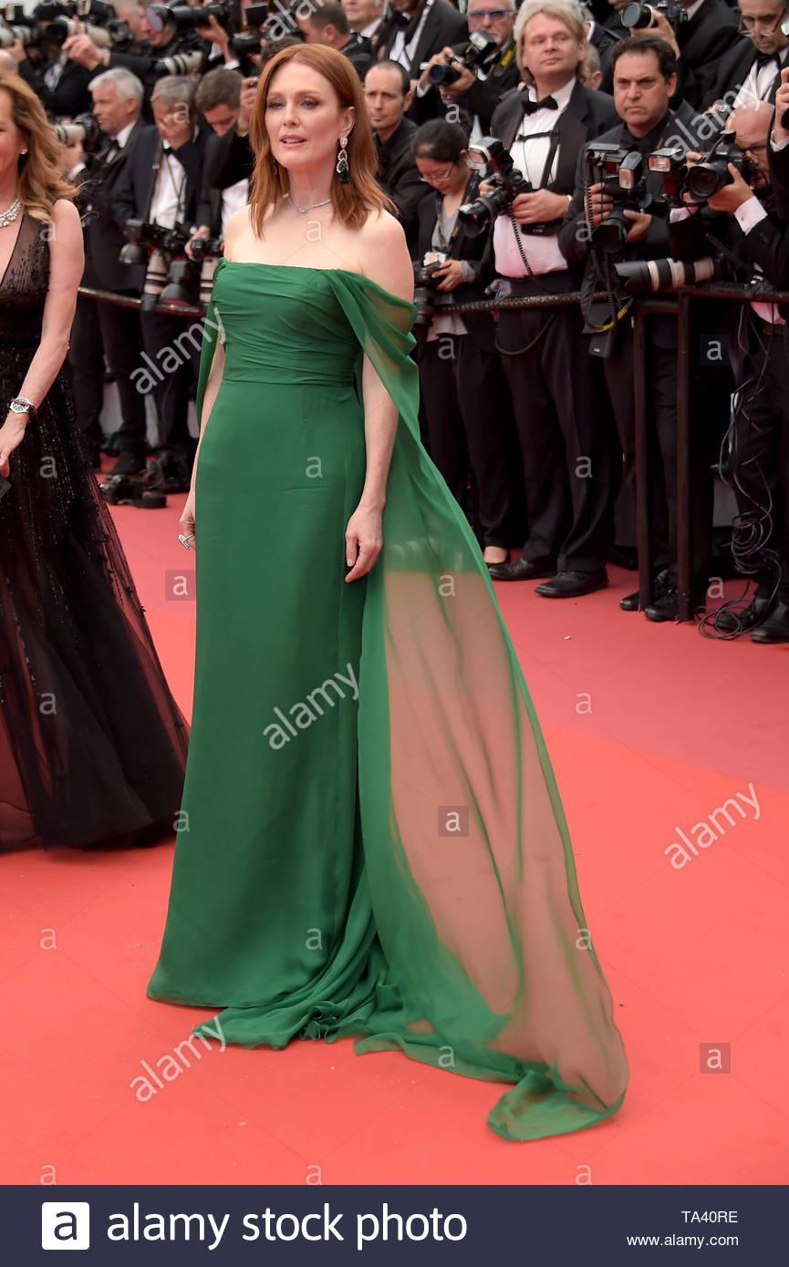 Julianne Moore Cannes, 17 Maggio 2019 72 Cannes film festival - Stock Image