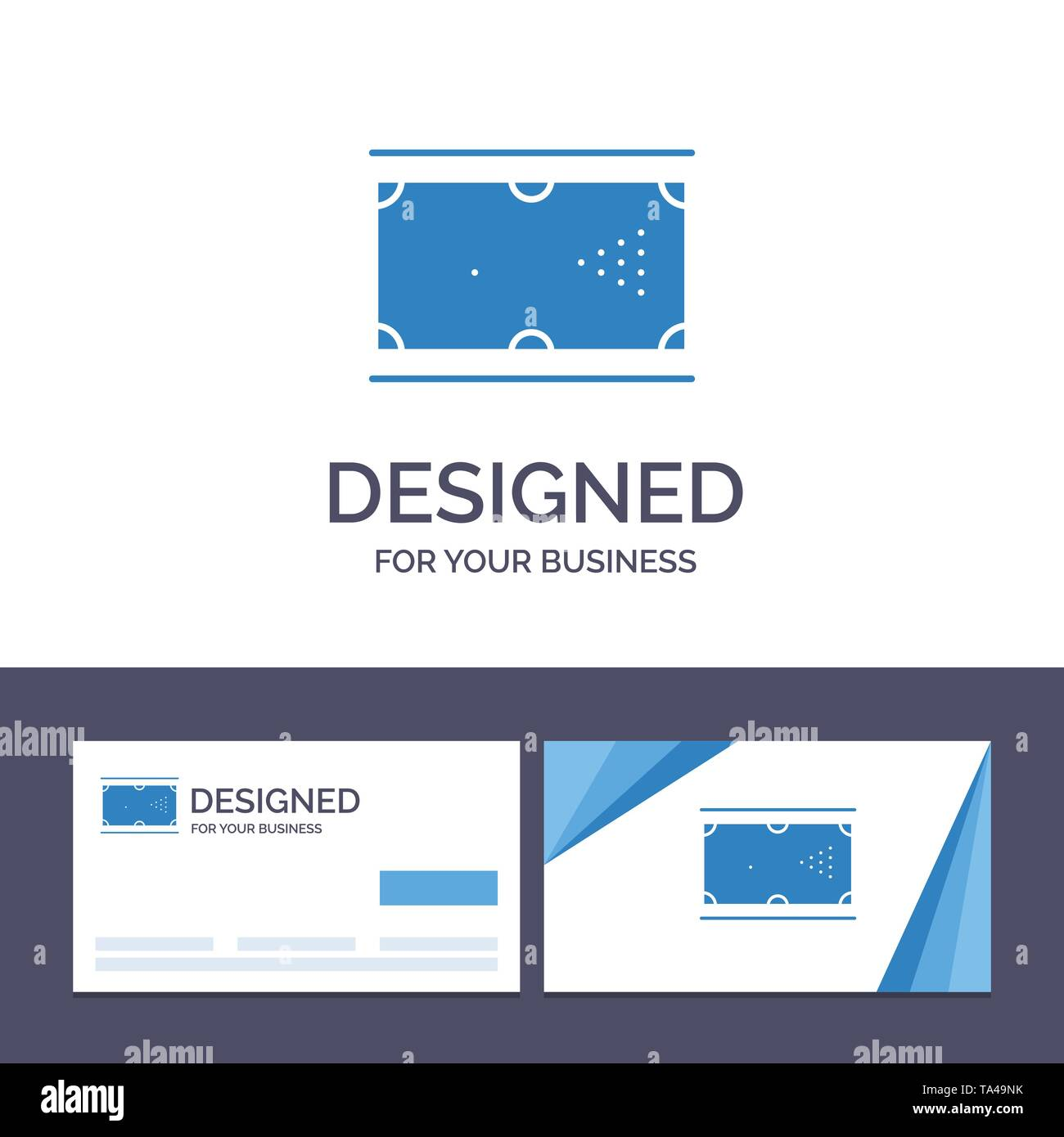 Creative Business Card and Logo template Billiards, Cue, Game, Pocket, Pool Vector Illustration - Stock Image