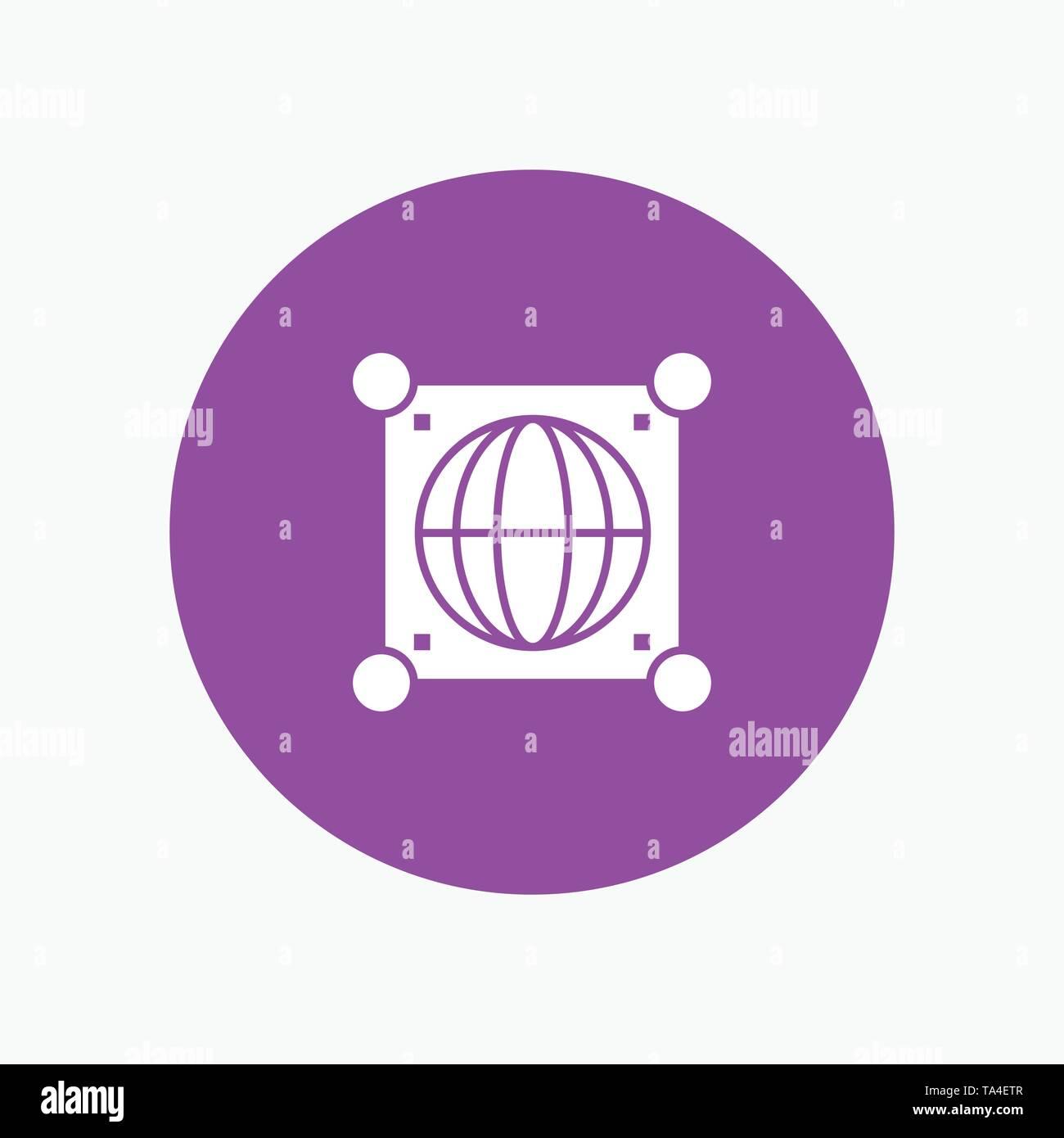 Globe, Global, World, Science - Stock Image
