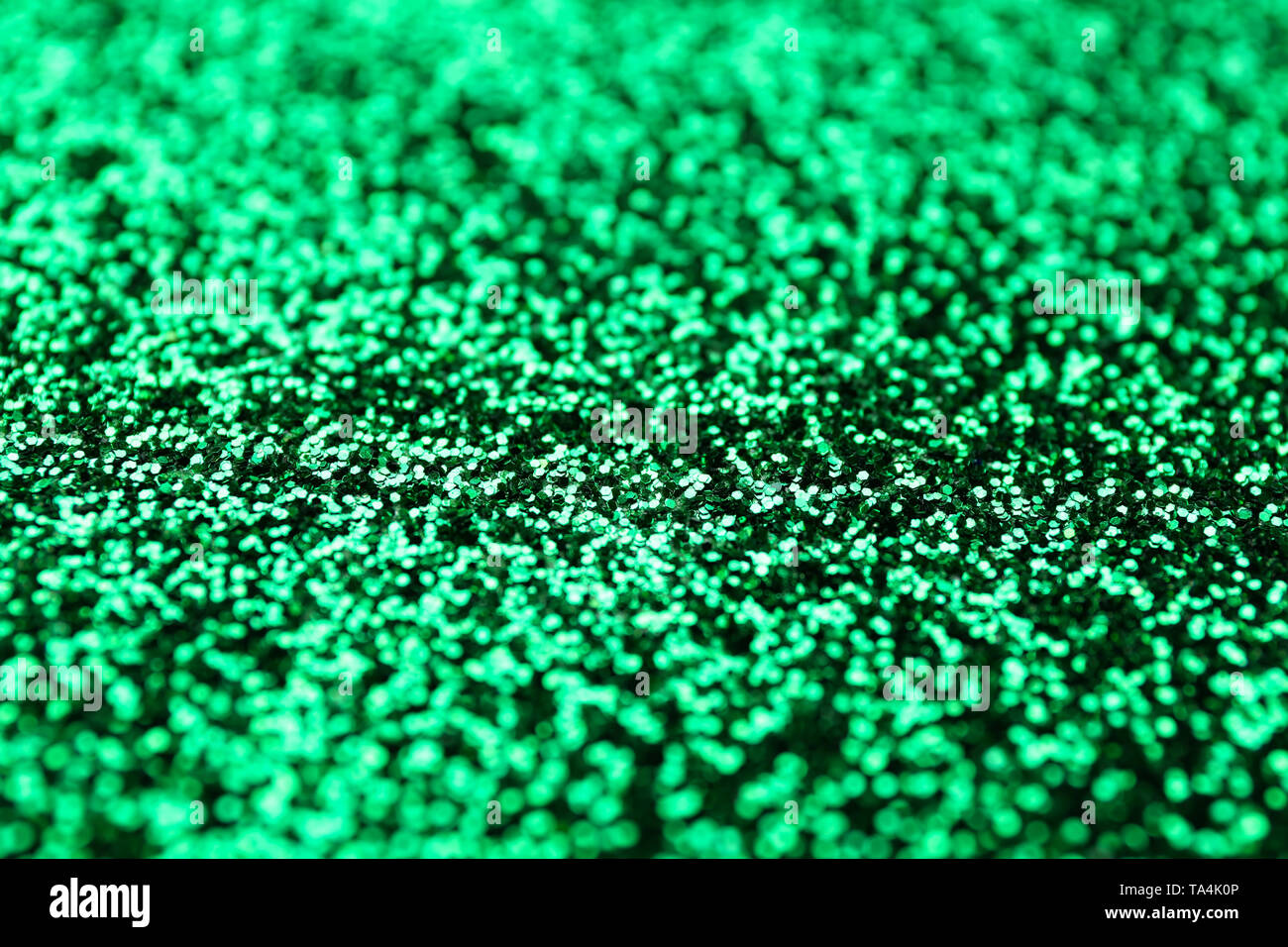 Closeup view of color glitters Stock Photo