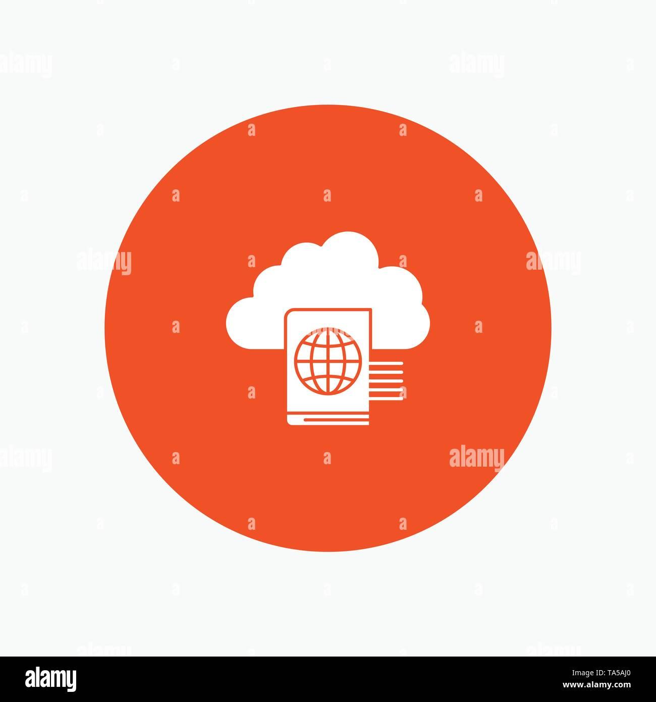 Cloud, Reading, Folder, Upload - Stock Image