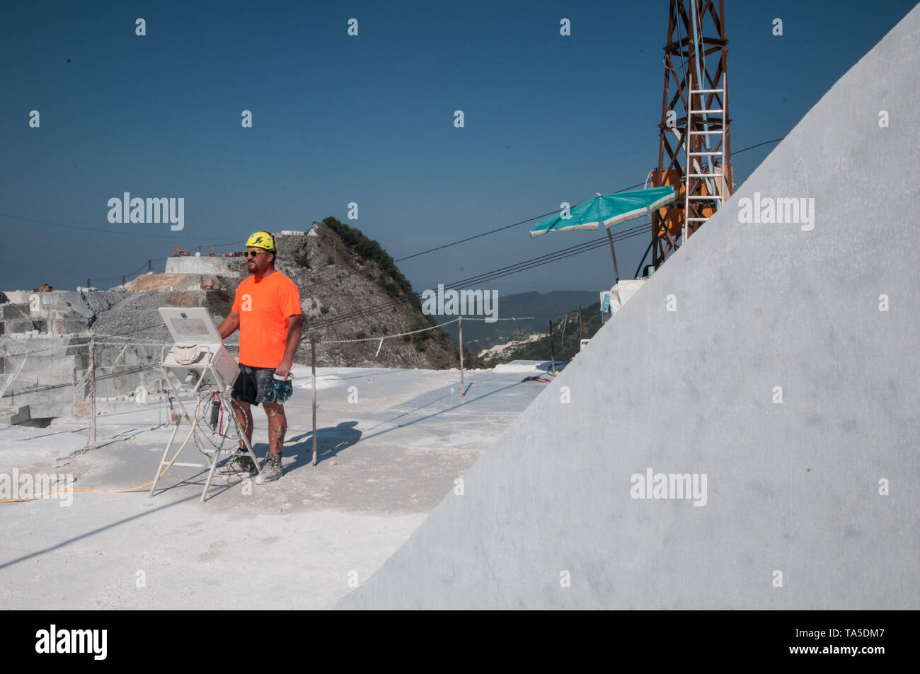 In the Gioia Quarry - Stock Image
