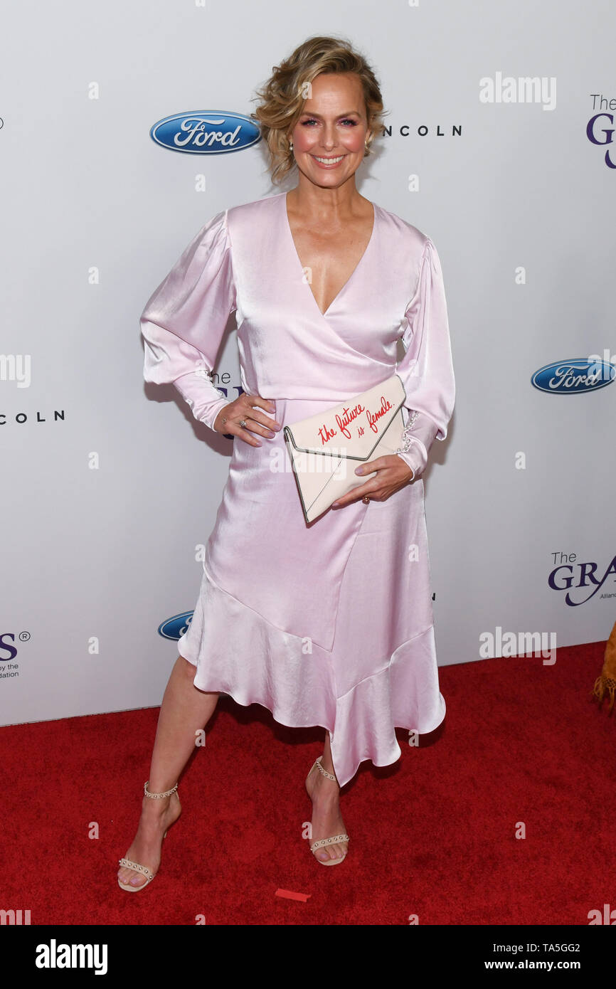 May 21, 2019 - Beverly Hills, California, USA - 21, May 2019 - Beverly Hills, California. Melora Hardin attends 44th Annual Gracie Awards Gala at The Four Seasons Beverly Wilshire Hotel. (Credit Image: © Billy Bennight/ZUMA Wire) - Stock Image