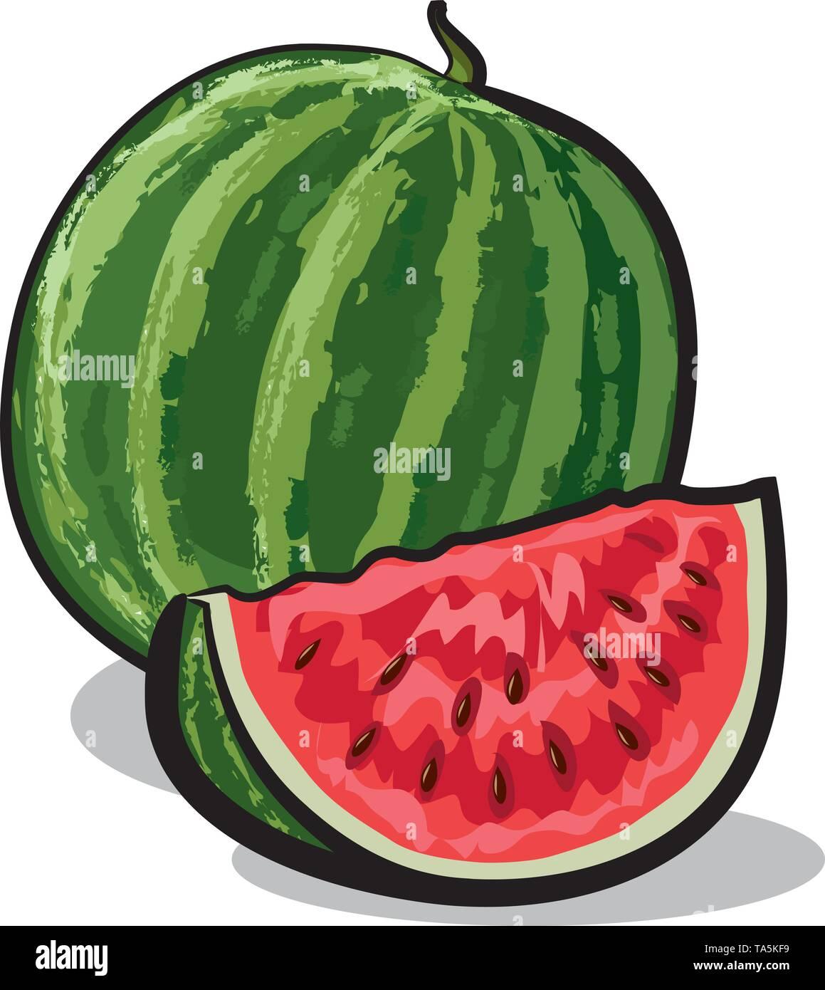 watermelon - Stock Image