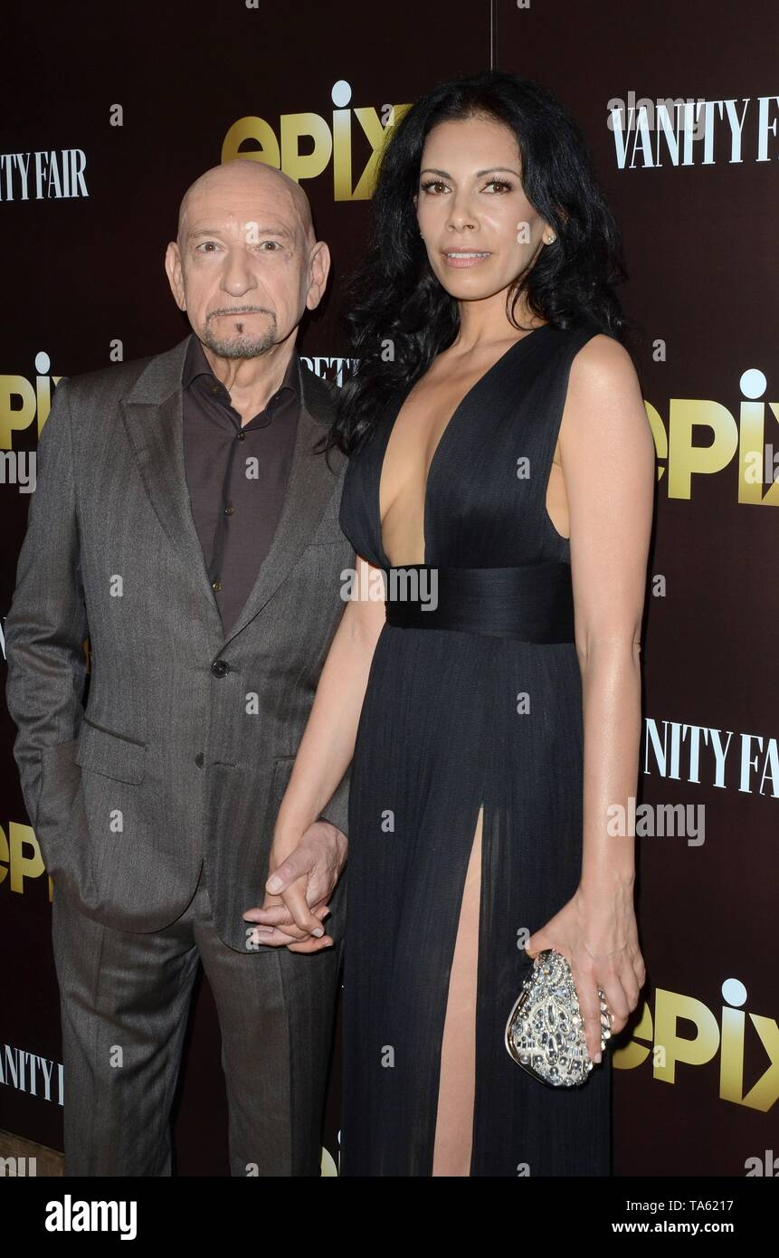 Los Angeles, CA, USA. 21st May, 2019. Ben Kingsley, Daniela Lavender at arrivals for PERPETUAL GRACE, LTD Premiere, the Linwood Dunn Theater, Los Angeles, CA May 21, 2019. Credit: Priscilla Grant/Everett Collection/Alamy Live News - Stock Image