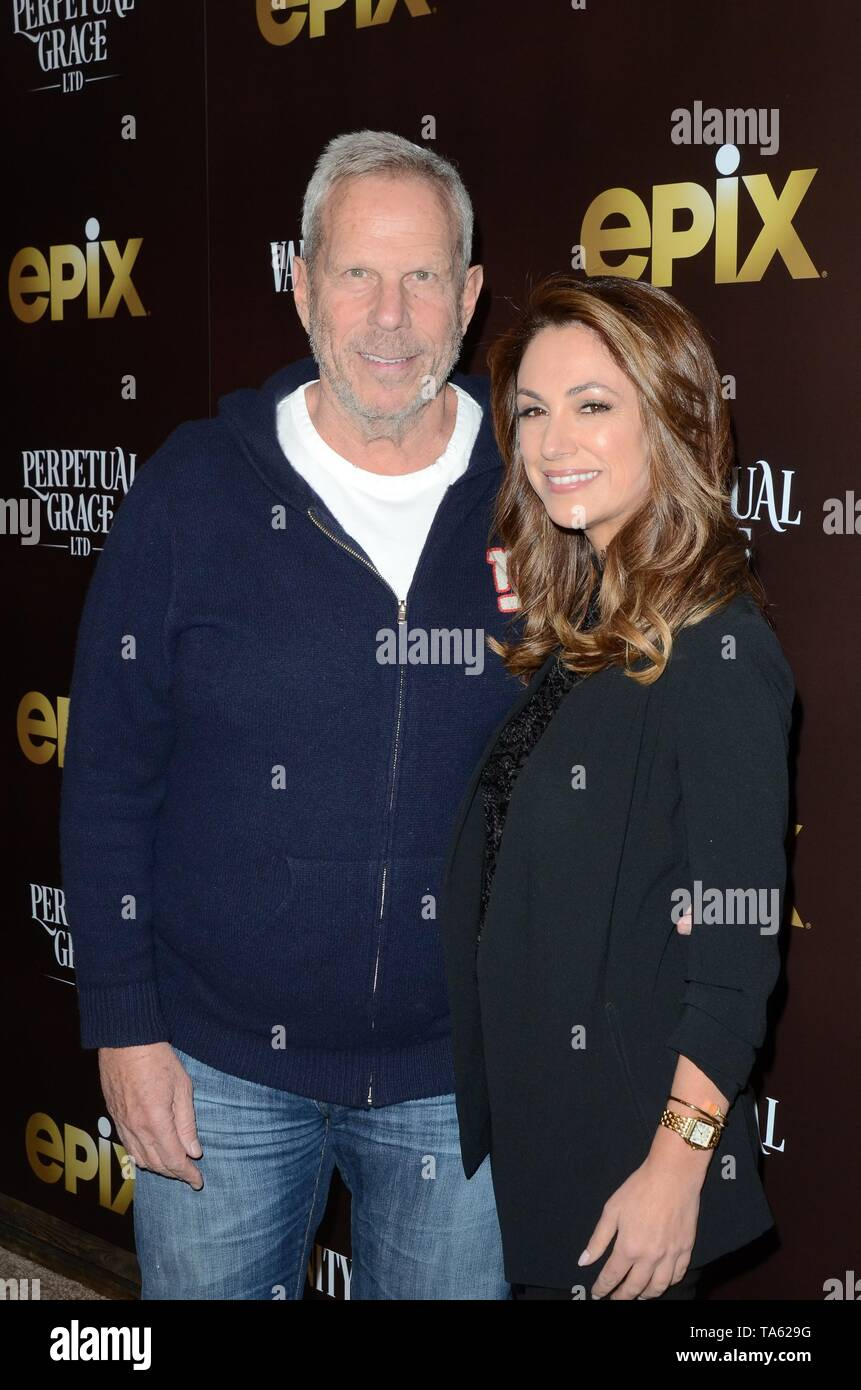 Los Angeles, CA, USA. 21st May, 2019. Steve Tisch, Dana Norris at arrivals for PERPETUAL GRACE, LTD Premiere, the Linwood Dunn Theater, Los Angeles, CA May 21, 2019. Credit: Priscilla Grant/Everett Collection/Alamy Live News - Stock Image