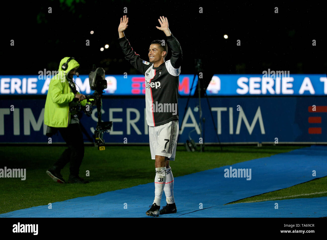 Turin Italy 19th May 2019 Soccer Serie A Tim Championship 2018 19 Festa Scudetto Juventus Vs Atalanta 1 1 In The Photo Cr7 Ronaldo Credit Independent Photo Agency Alamy Live News Stock Photo Alamy
