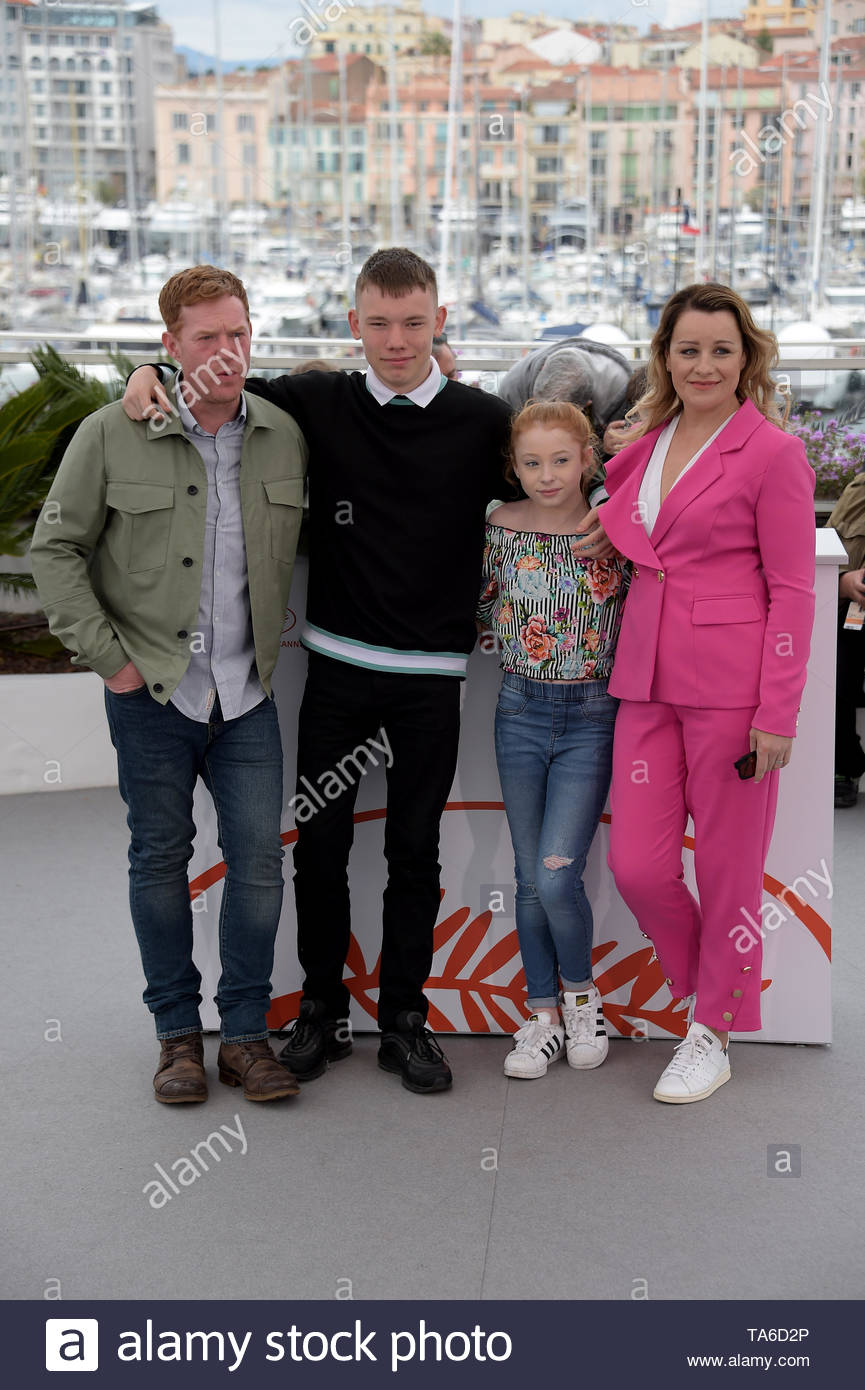 Kris Hitchen, Debbie Honeywood, Rhys Stone, Katie Proctor Cannes, 20 Maggio 2019 72 Cannes film festival - Stock Image