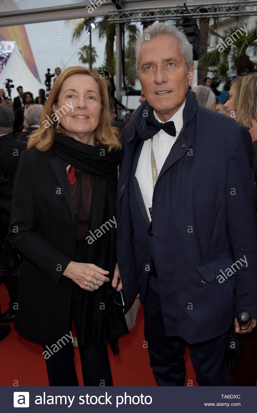 Francesco Rutelli Barbara Palombelli Cannes 20 Maggio 2019 72 Cannes Film Festival Stock Photo Alamy