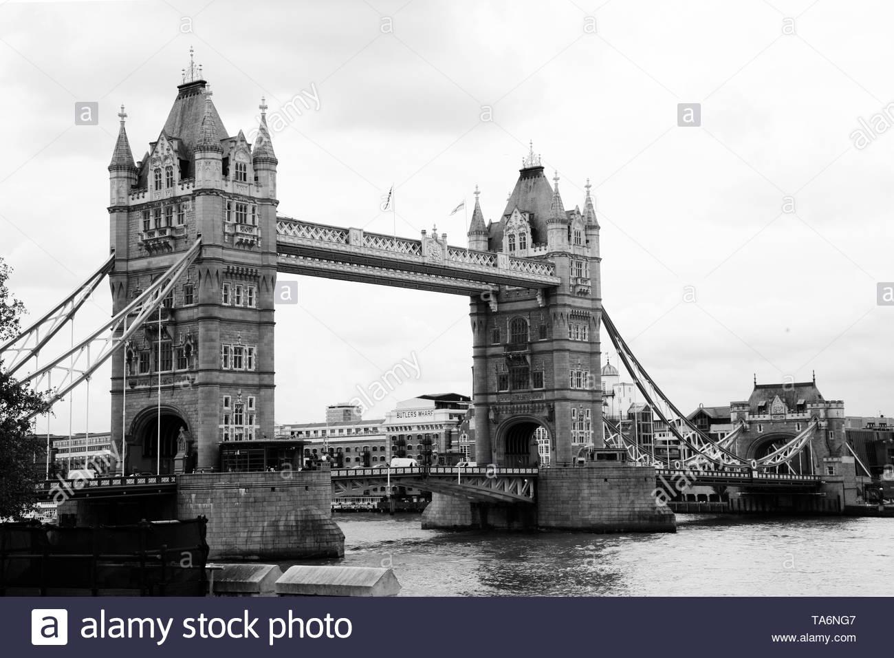 London Bridge Stock Photo