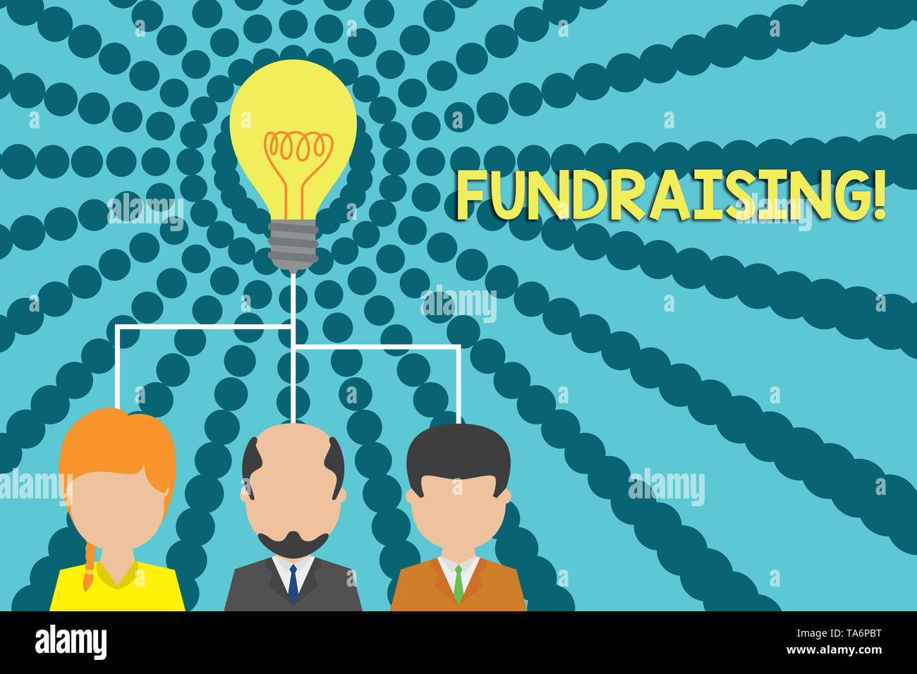 Handwriting text writing Fundraising  Conceptual photo