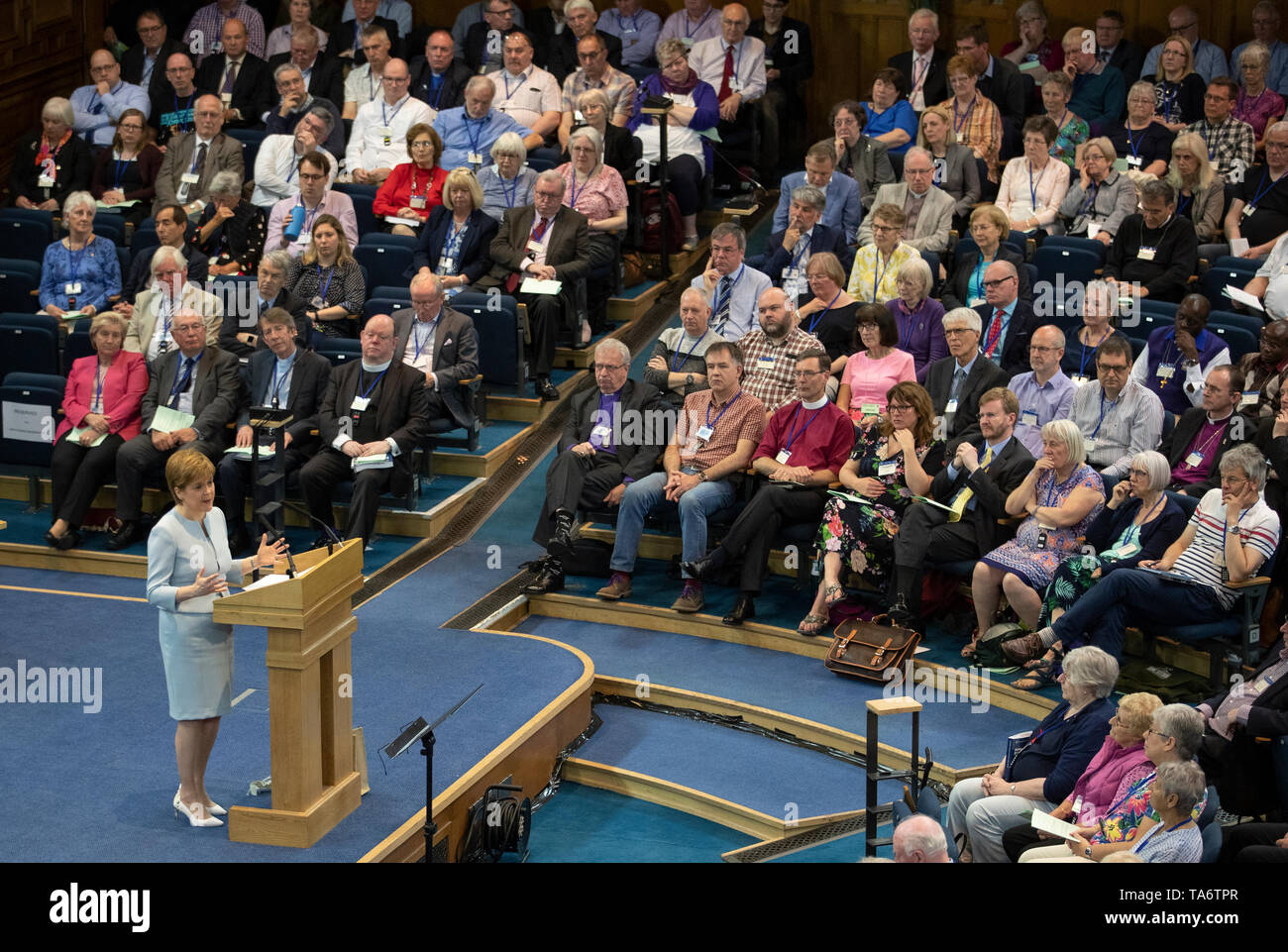 First Minister Nicola Sturgeon addresses the General Assembly of ...