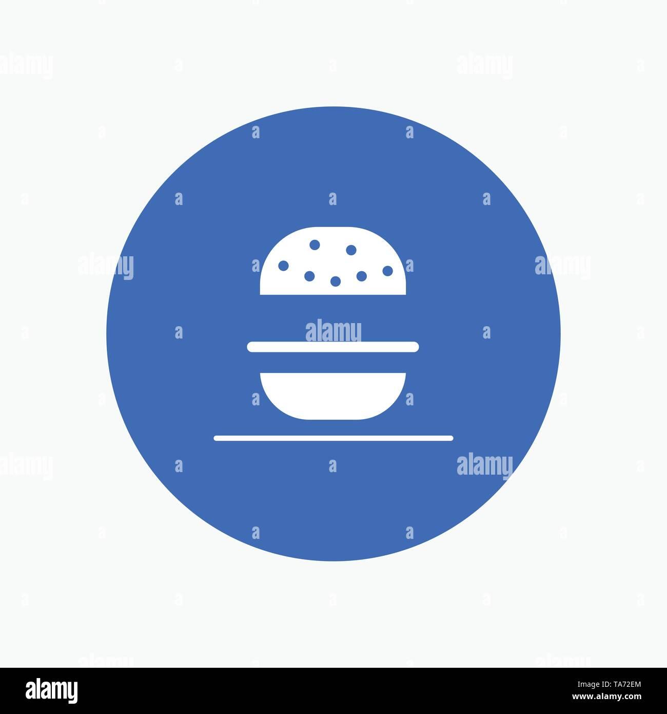 Burger, Eat, American, Usa - Stock Image