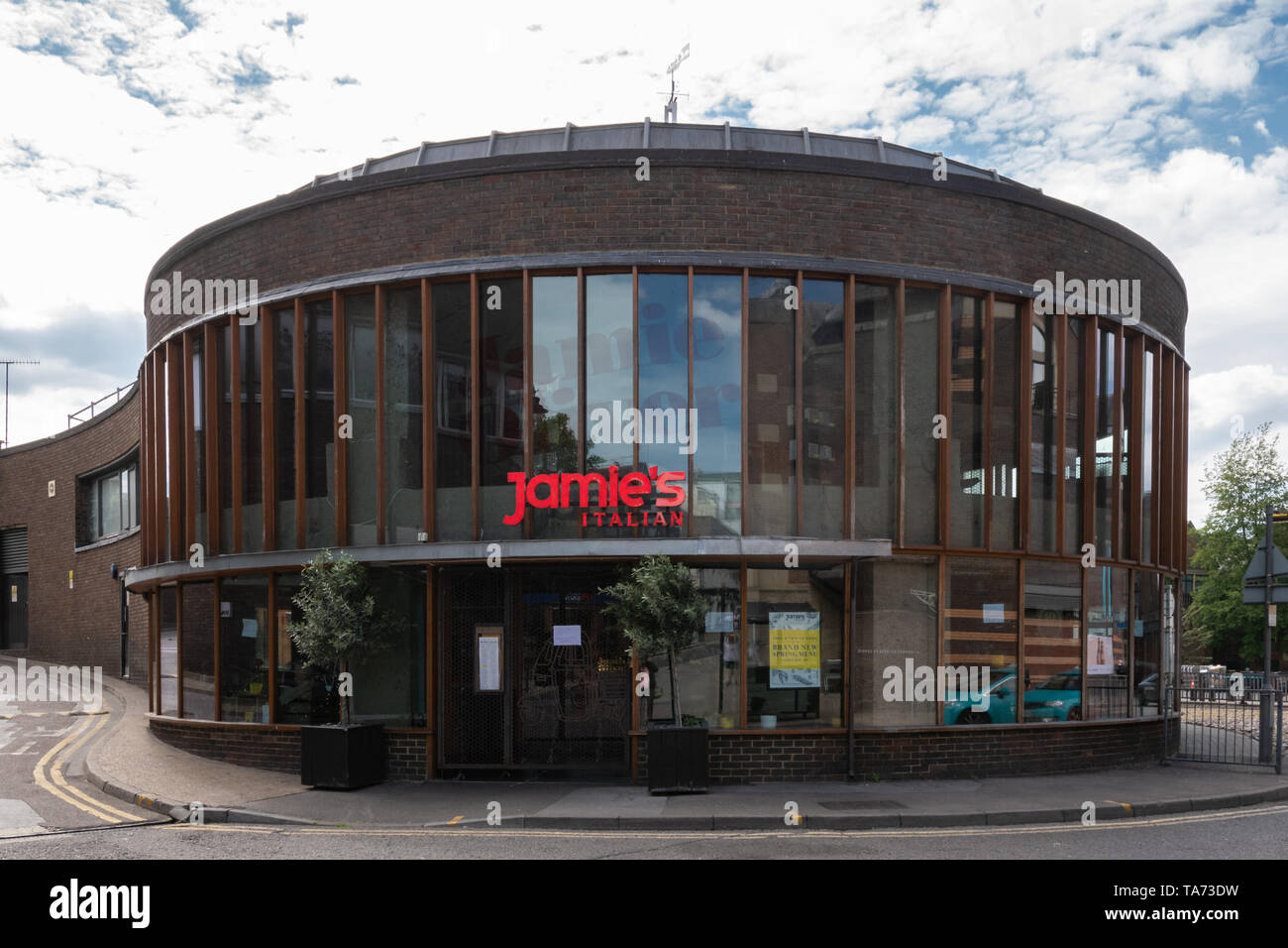 Jamie's Italian restaurant in the Surrey town of Guildford