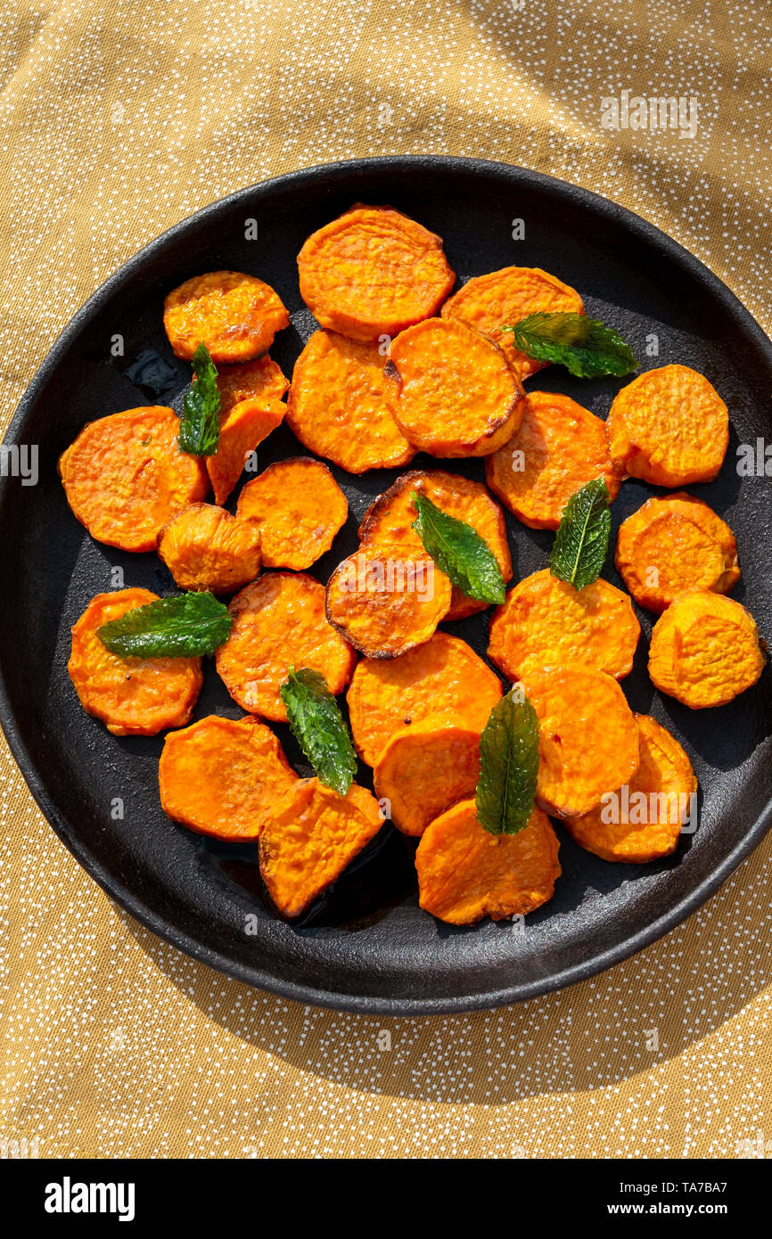 Roast Squash - Stock Image