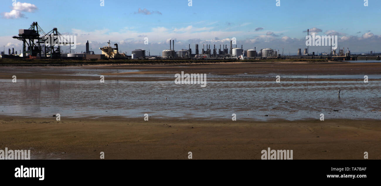Redcar steelworks, Cleveland, England, Britain - Stock Image