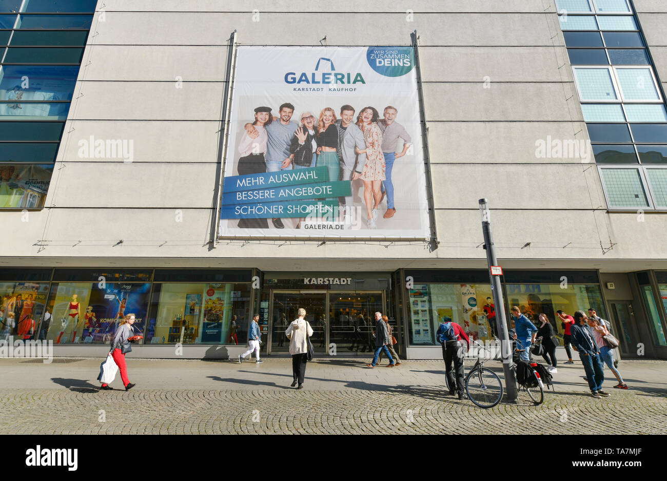 Galeria Karstadt purchase court, Carl apron street, Old Town, Spandau, Berlin, Germany, Galeria Karstadt Kaufhof, Carl-Schurz-Straße, Altstadt, Deutsc - Stock Image