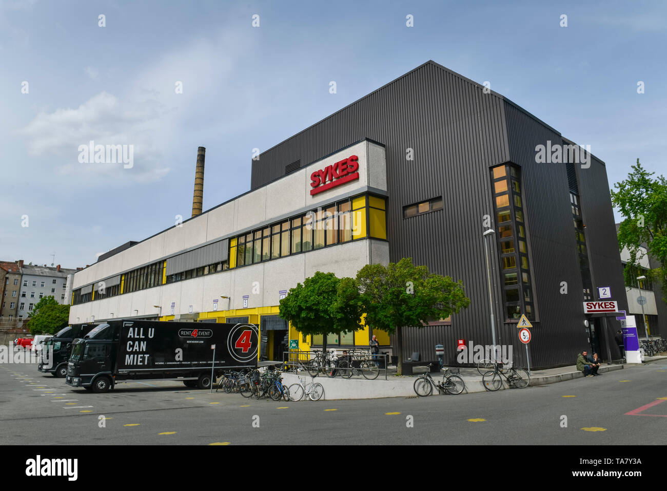 Sykes, Zeughofstrasse, cross mountain, Berlin, Germany, Zeughofstraße, Kreuzberg, Deutschland Stock Photo