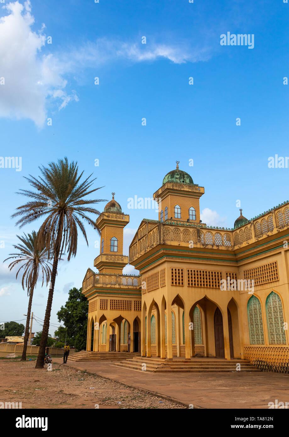 Grand mosque, Poro region, Korhogo, Ivory Coast Stock Photo