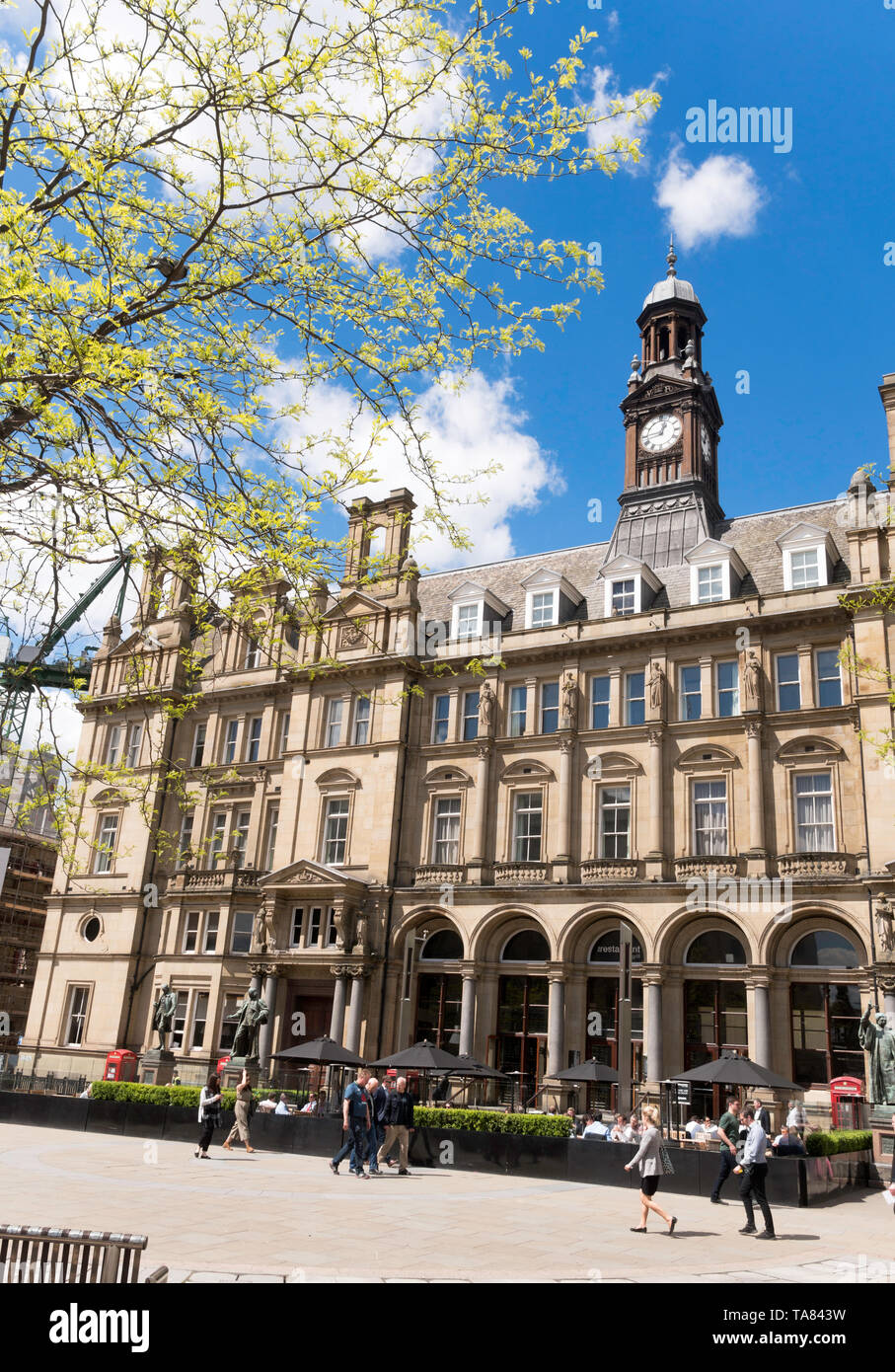The former General Post Office building in City Square, Leeds city centre, Yorkshire, England, UK - Stock Image