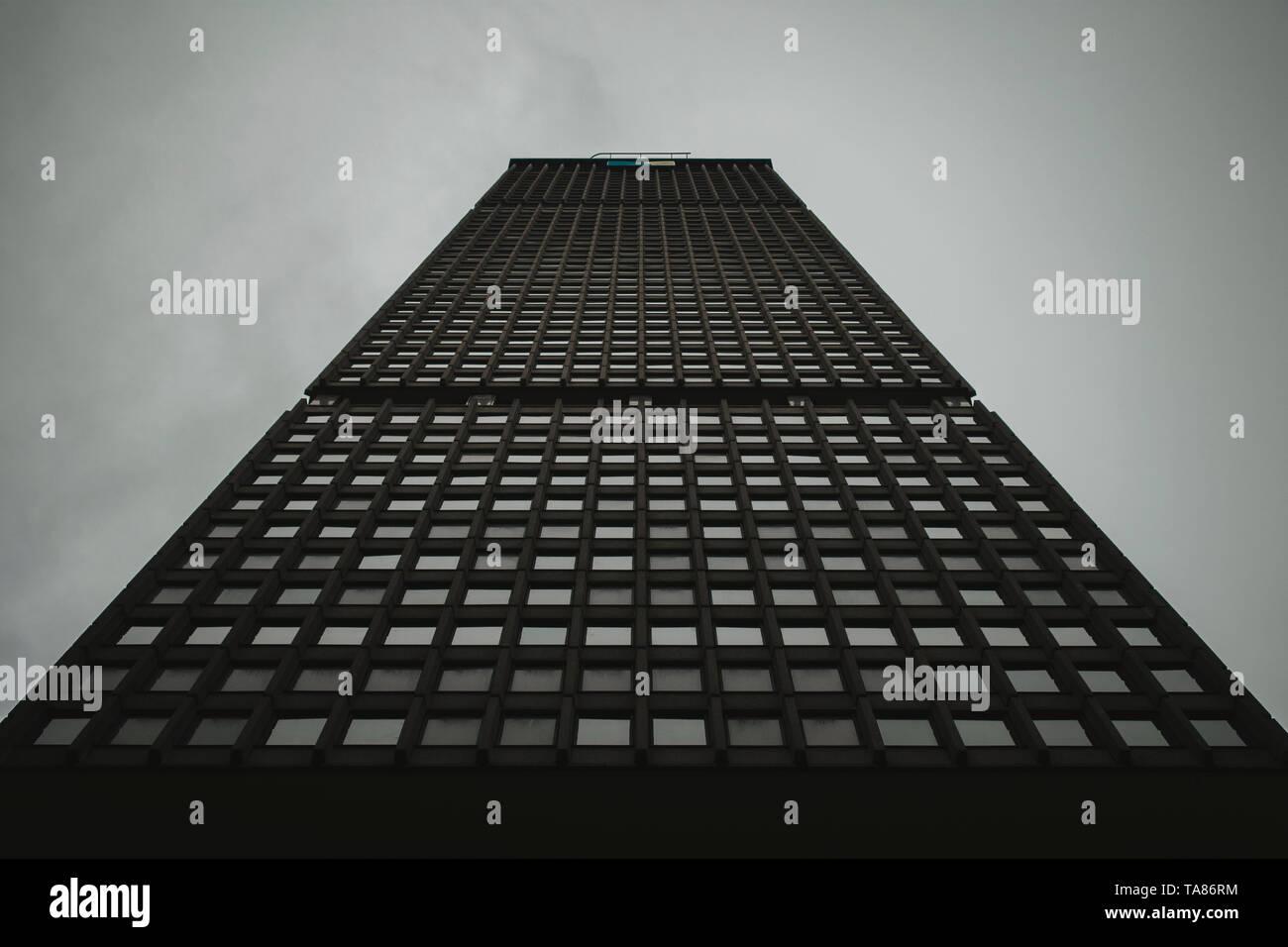 New York, OWT & ML Building - Stock Image