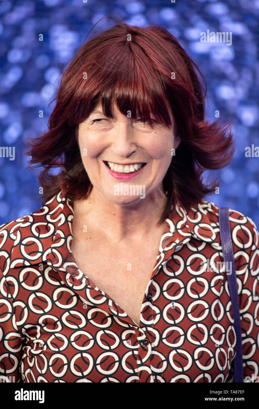 London, UK.  Janet Street-Porter     at UK Premiere of Rocketman at the Odeon Luxe, Leicester Square, London on May 20th 2019.  Ref: LMK386-S2465-210519 Gary Mitchell/Landmark Media WWW.LMKMEDIA.COM - Stock Image