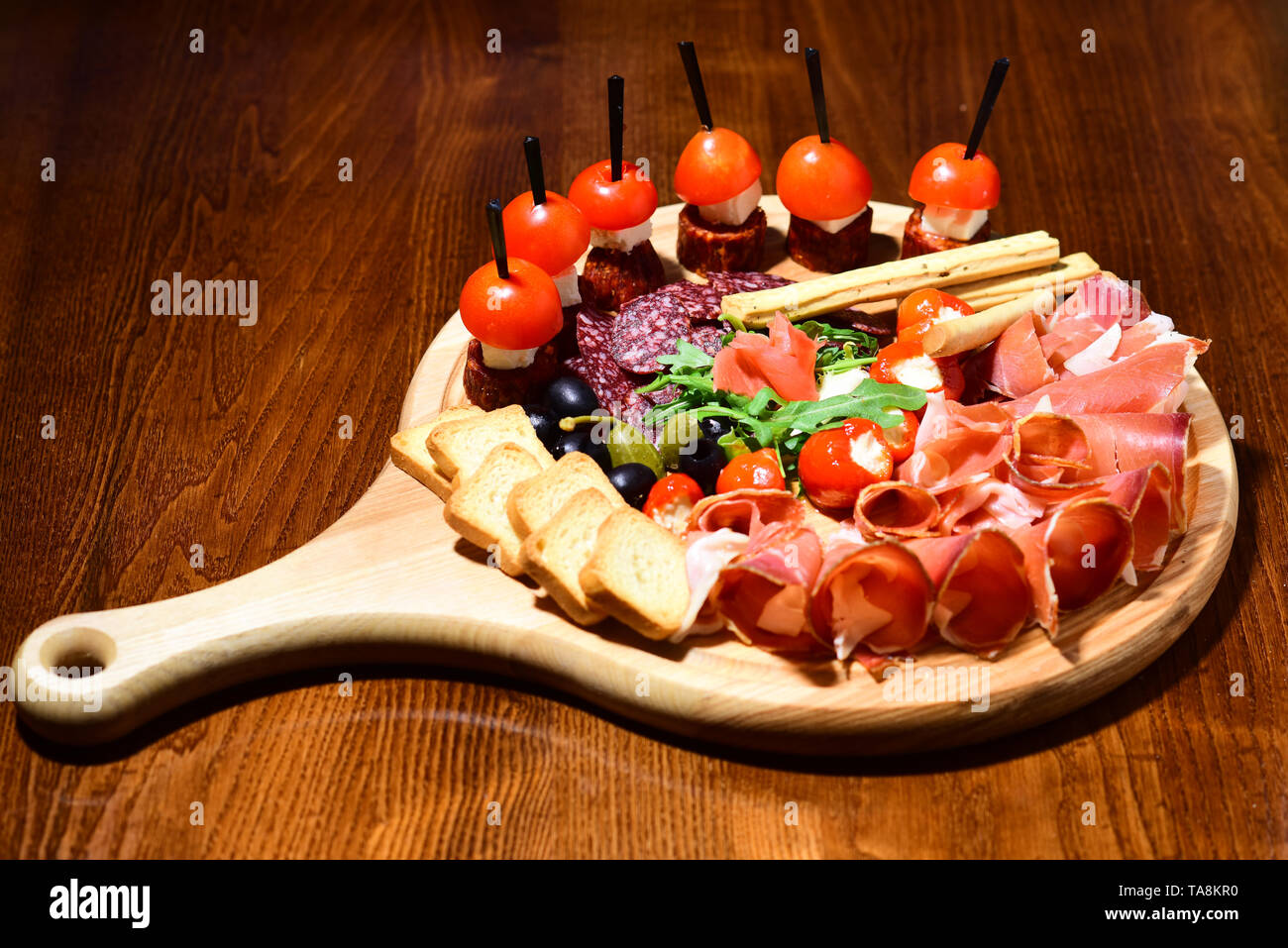 Cold Cuts Platter High Resolution Stock Photography And Images Alamy