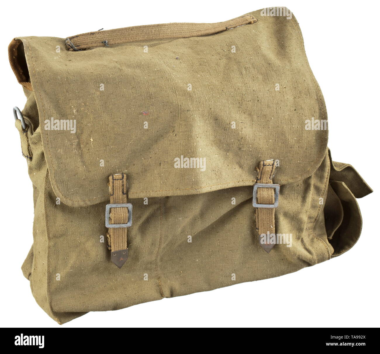 A bag for explosives for engineer units depot piece with Reich factory number historic, historical, 20th century, Editorial-Use-Only - Stock Image
