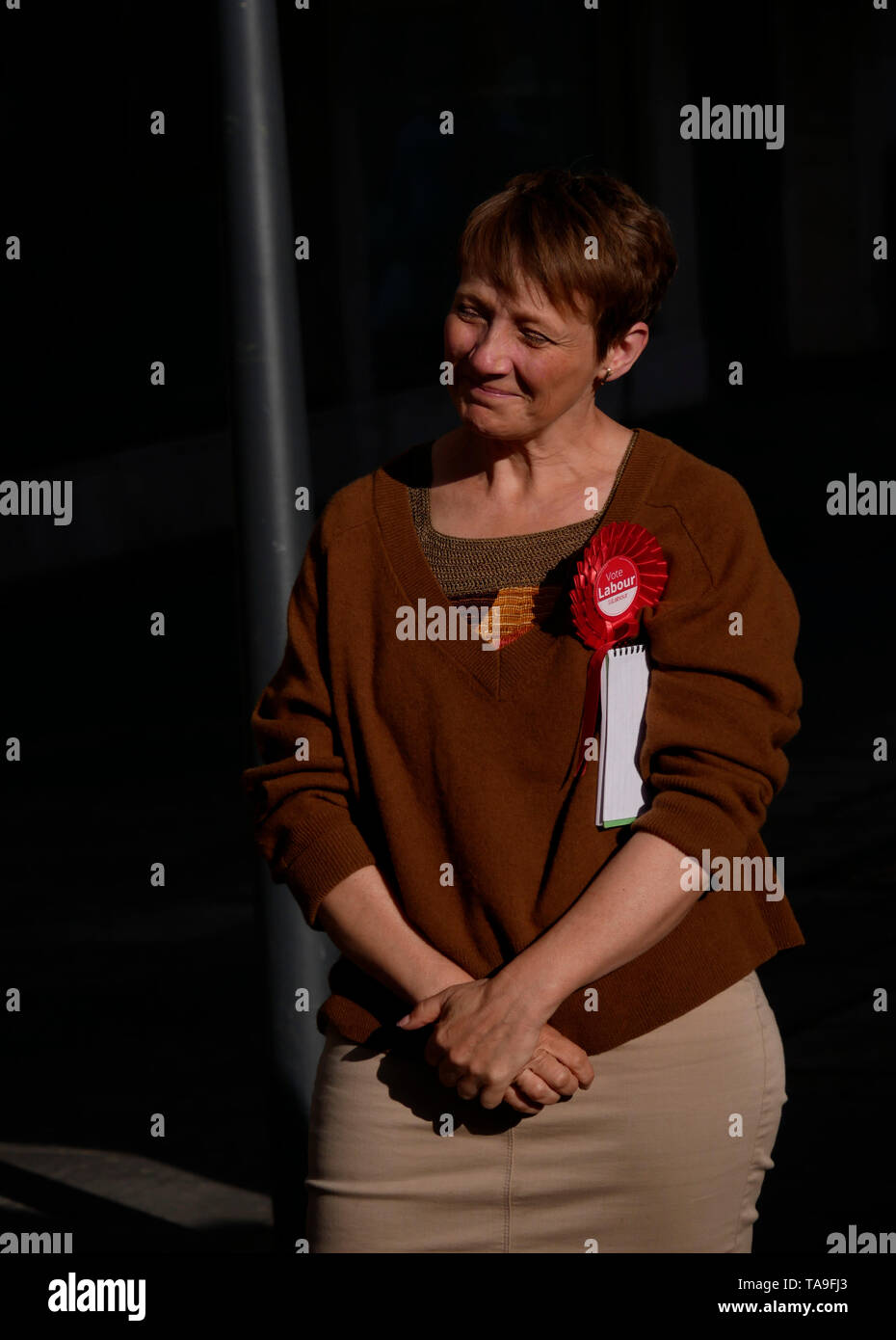 Exeter, UK. 22nd May, 2019. European Union Elections Campaign, Exeter, UK Credit: Anthony Collins/Alamy Live News Stock Photo