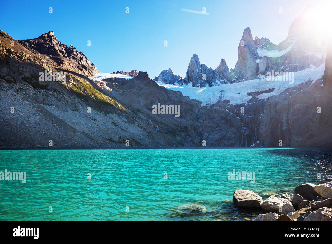 Patagonia landscapes in Southern Argentina - Stock Image