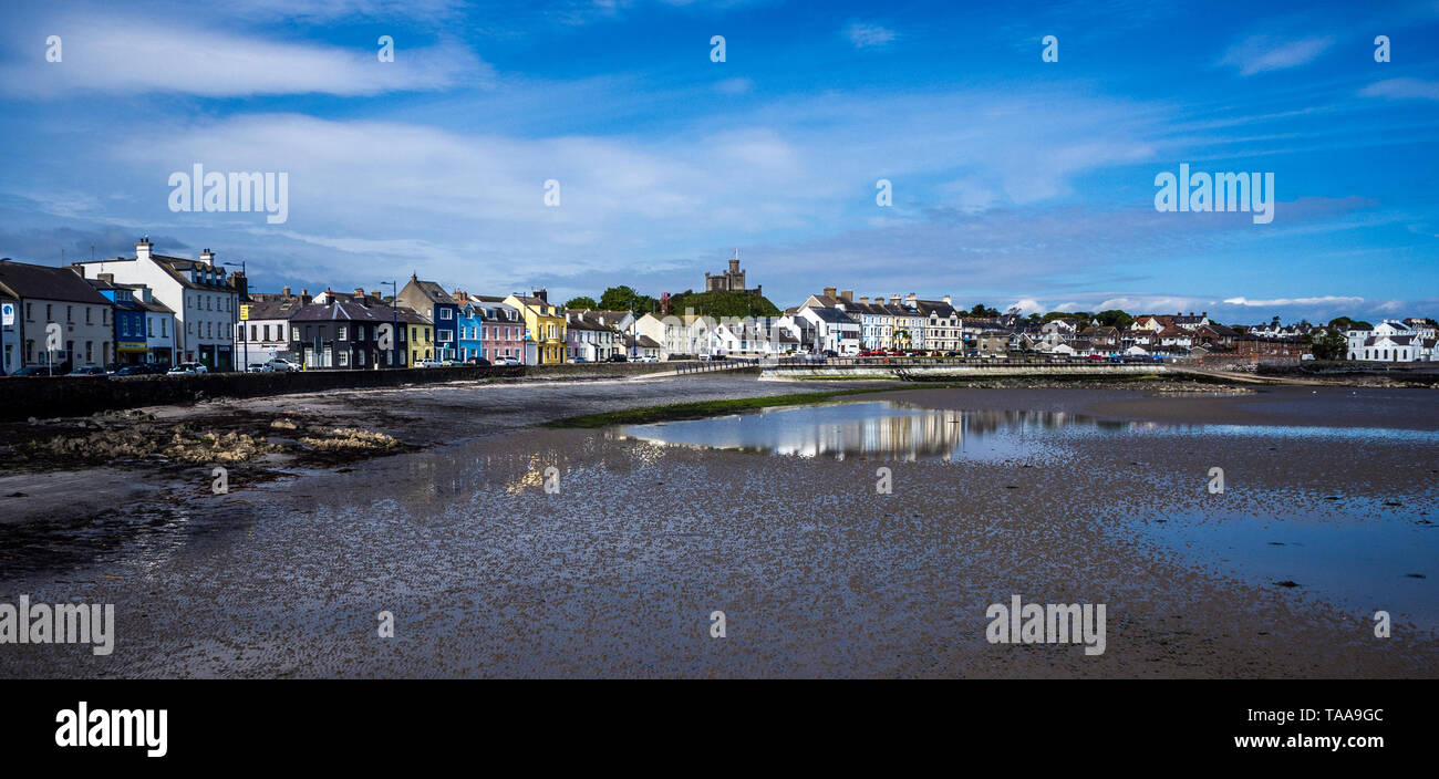 Donaghadee seafront - Stock Image