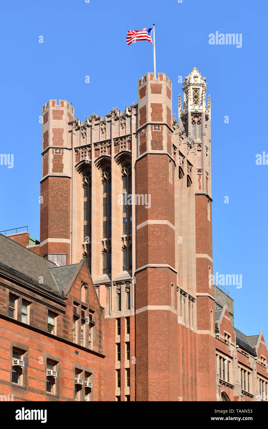 Russell Hall, Teachers College, Columbia University. New York City, US - Stock Image