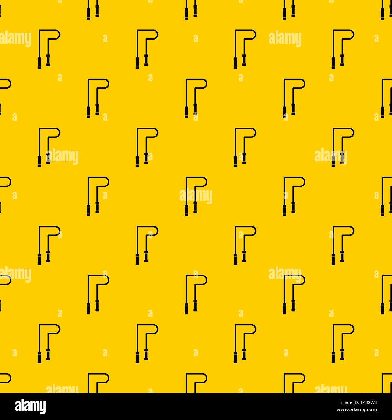 Skipping rope pattern vector - Stock Image