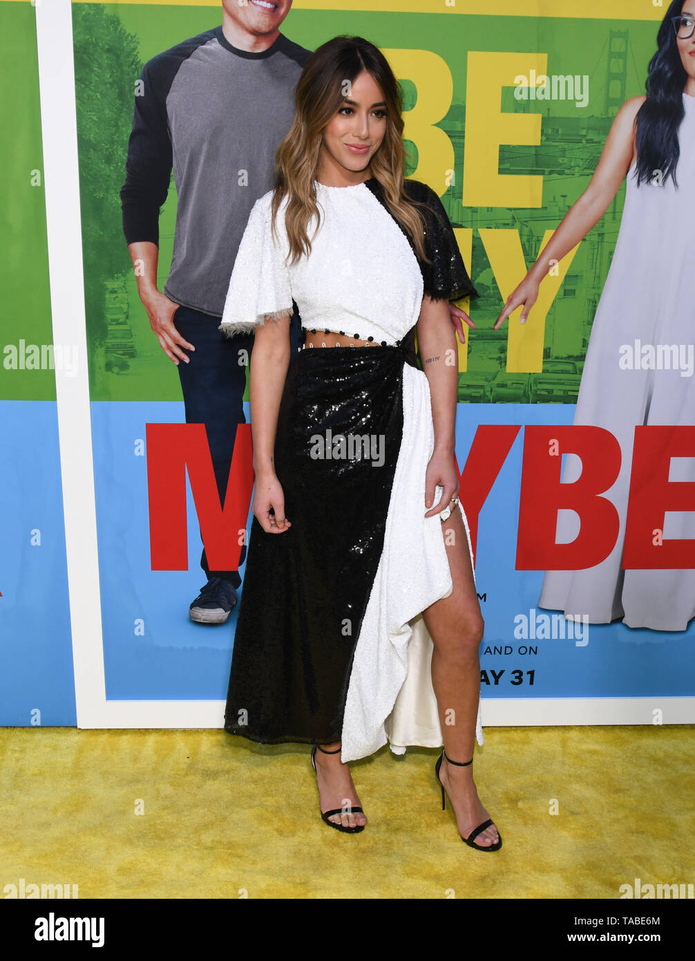 May 22, 2019 - Westwood Village, California, USA - 22, May 2019 - Westwood Village, California. Chloe Bennet attends Netflix Premiere of 'Always Be My Maybe' at the Regency Village Theatre. (Credit Image: © Billy BennightZUMA Wire) Stock Photo