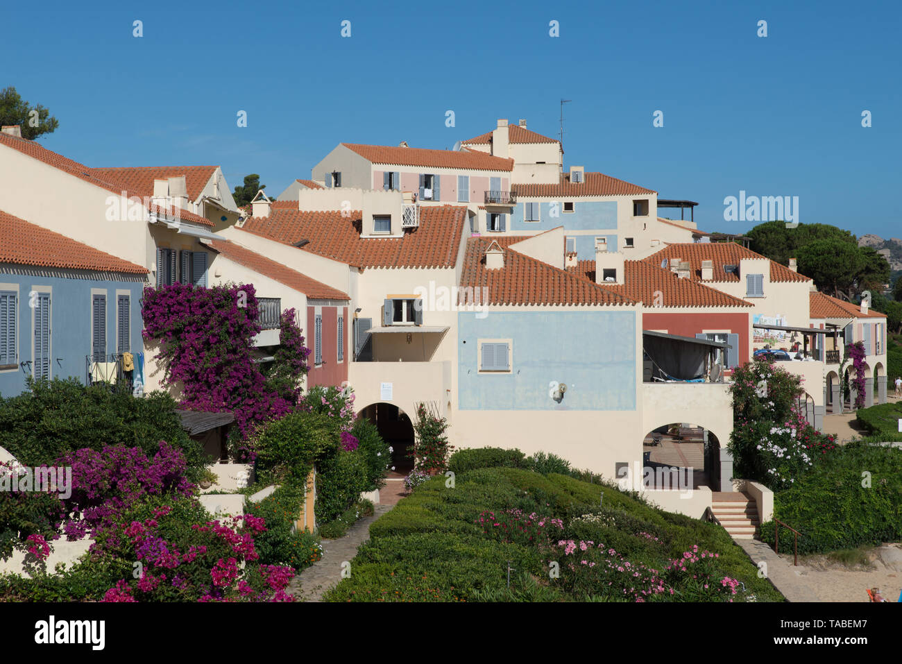 Porto Faro nahe Palau, Sardinien, Italien. / Porto Faro near Palau, Sardinia, Italy. - Stock Image