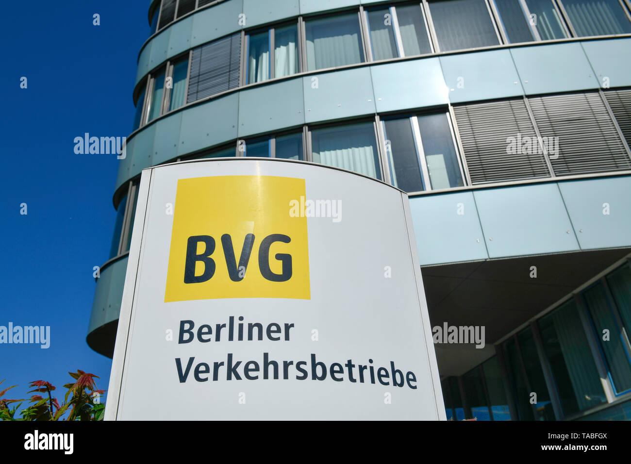 BVG headquarters, Holzmarktstrasse, middle, Berlin, Germany, BVG-Zentrale, Holzmarktstraße, Mitte, Deutschland Stock Photo