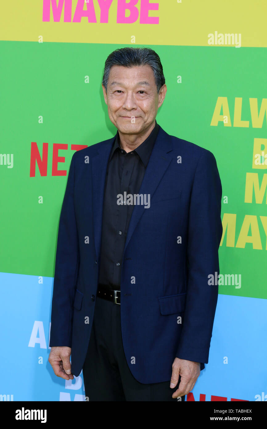 May 22, 2019 - Westwood, CA, USA - LOS ANGELES - MAY 22:  James Saito at the ''Always Be My Maybe'' Premiere at the Village Theater on May 22, 2019 in Westwood, CA (Credit Image: © Kay Blake/ZUMA Wire) Stock Photo