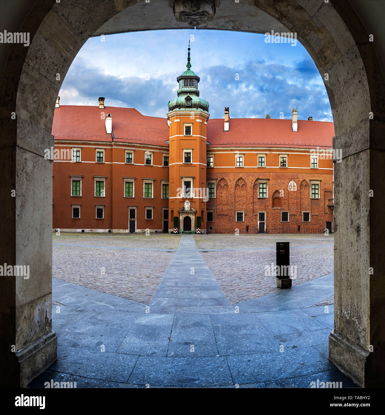 The Museum Royal Castle in Warsaw, Poland, Europe Stock Photo