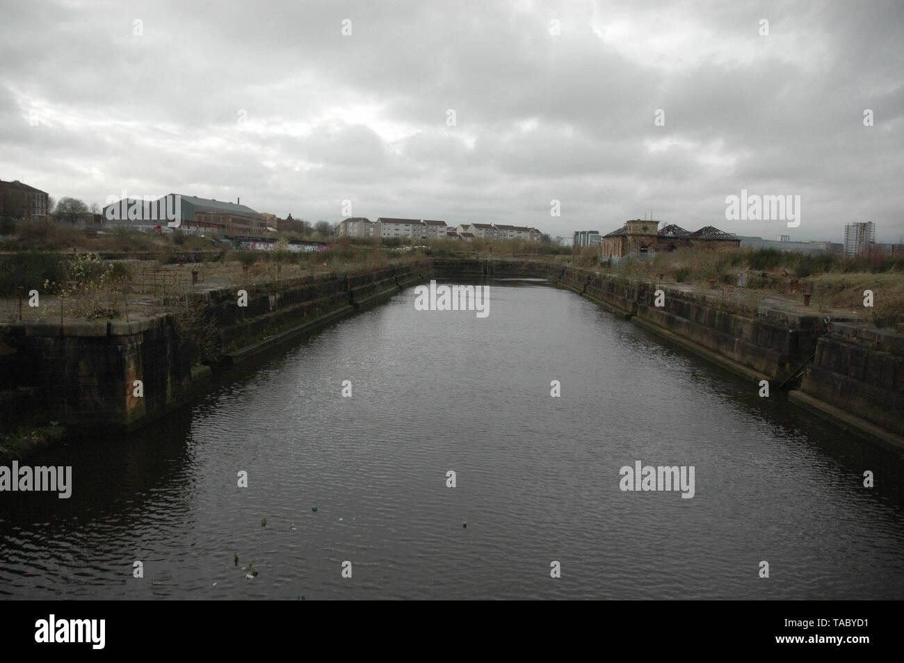 Govan Graving Docks - Stock Image