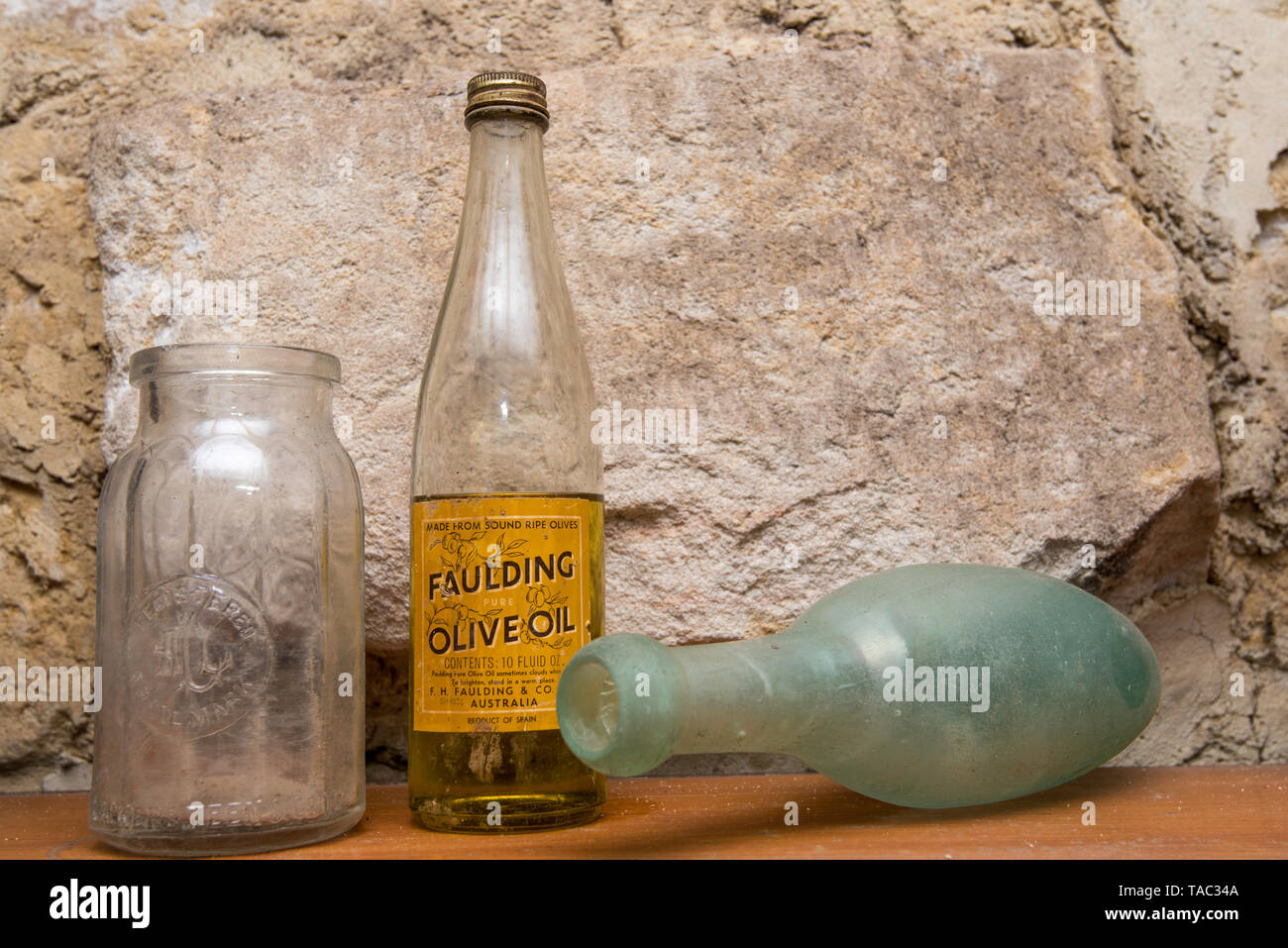 Old Glass Bottles Stock Photos & Old Glass Bottles Stock Images - Alamy