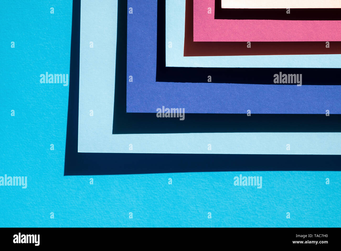 Blue abstract background and texture - Stock Image